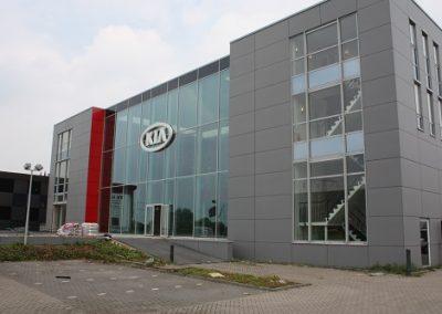 Nieuwbouw kantoor KIA te Breukelen