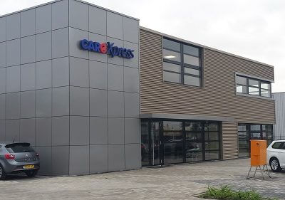 Nieuwbouw bedrijfspand Care te Harderwijk