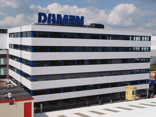 Nieuwbouw kantoor Damen Shipyards te Gorinchem