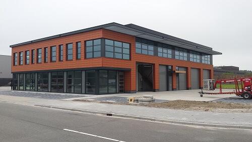 """Nieuwbouw bedrijfsverzamelgebouw """"Gadering"""" Hoogvliet"""